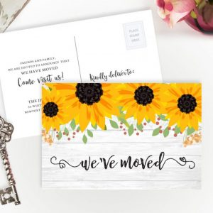 Moving Announcements Cards