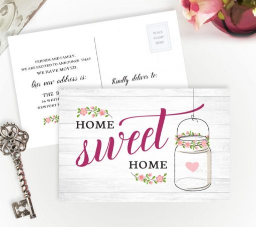new home announcement cards