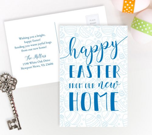 Easter New Home Cards