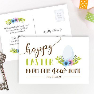 Easter Change of Address Cards
