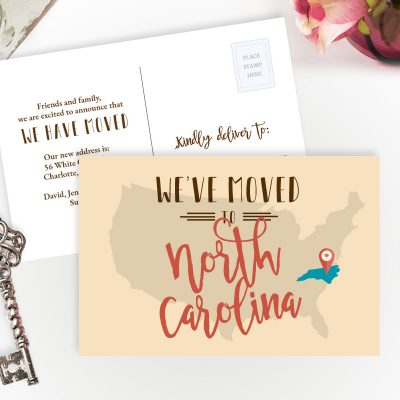 North Carolina state moving announcements