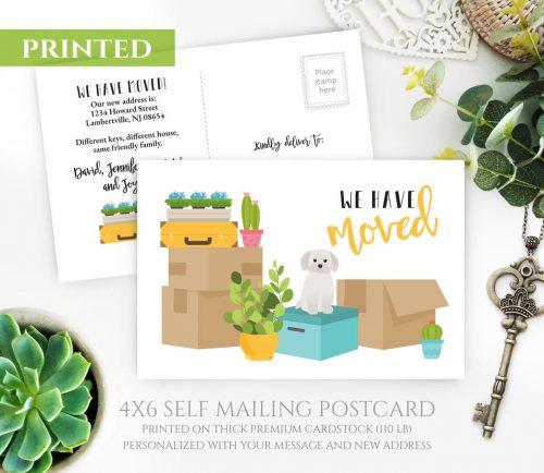 Maltese Terrier Moving Cards